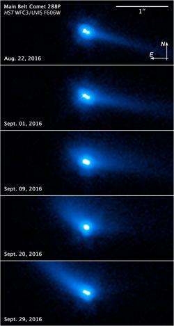 Imagen del asteroide binario 288P