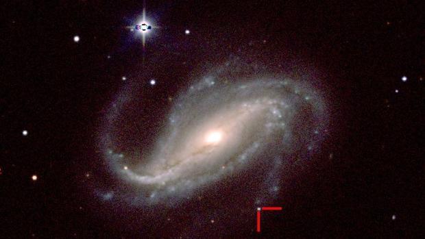 Imagen obtenida por un observatorio profesional el 18 de febrero de 2017