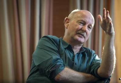 Rafael Yuste durante la entrevista, celebrada en Madrid
