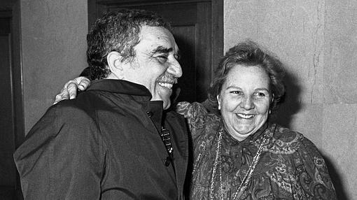 Con Gabriel García Márquez