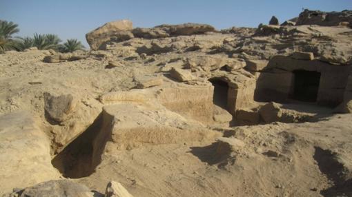 Las tumbas halladas en Gebel el-Silsila