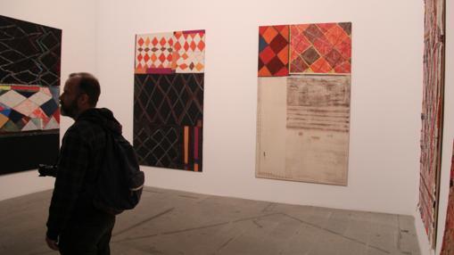 Obras de la española Teresa Lanceta en la Bienal