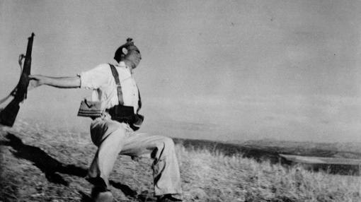 El miliciano caído, de Robert Capa