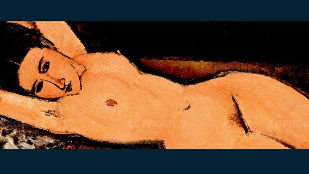 «Desnudo recostado», de Modigliani