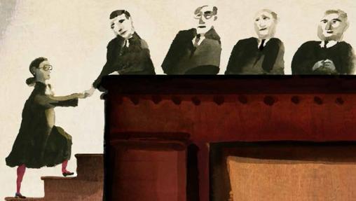 Ilustración de «Ruth Bader Ginsburg»