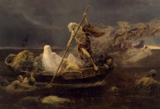 Caronte, el barquero del inframundo