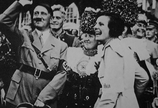 Leni Riefenstahl con Adolf Hitler