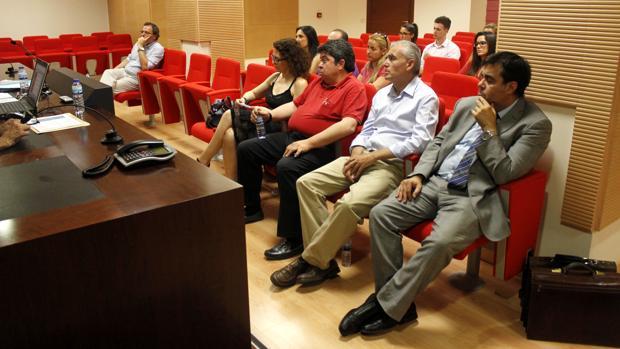 Abogados del turno de oficio en la celebración del Día de la Justicia Gratuita en el Colegio de Toledo