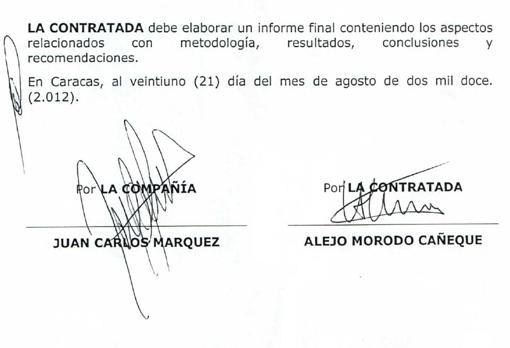 Alejo Morodo firmaba en nombre del despacho madrileño y de la sociedad panameña