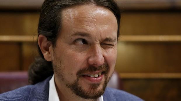 Resultado de imagen para Fotos de Iglesias - Podemos