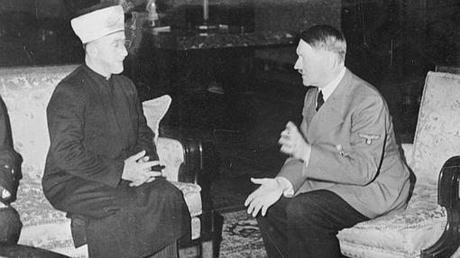 El Gran Muftí, junto a Hitler