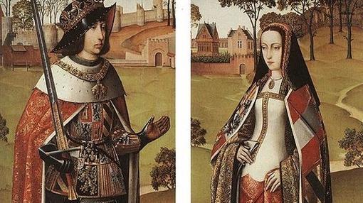 Pintura de Felipe y Juana, en 1500