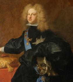 Felipe V de España por Hyacinthe Rigaud