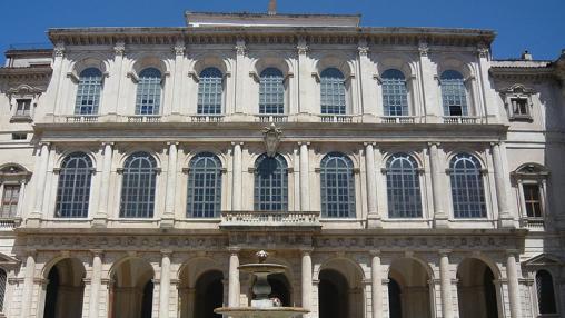 Fachada del Palacio Barberini.