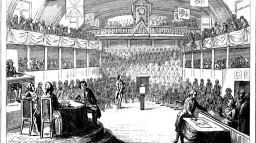 La Convención interroga a Luis el Último.