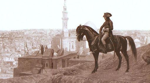 Napoleón en el Cairo