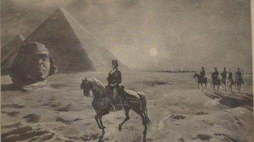 Napoleón en Egipto