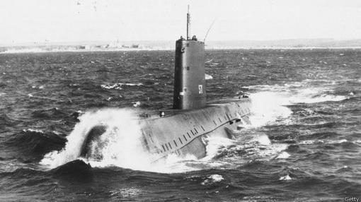Submarino atómico (1950)