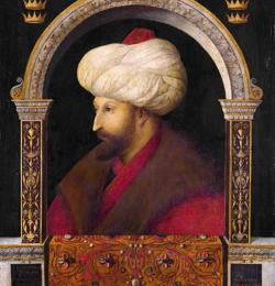 Retrato de Mehmed II