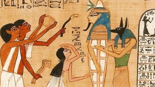 Escena del «Libro de los muertos»