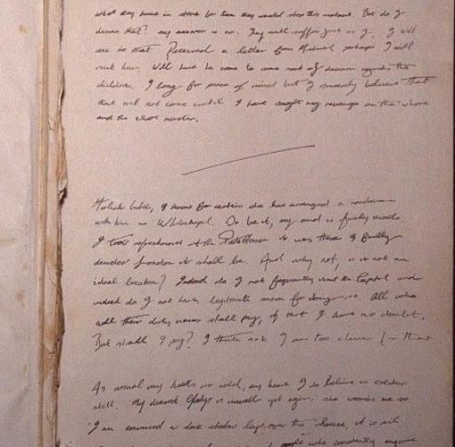 Diario en el que ha sido hallada la confesión