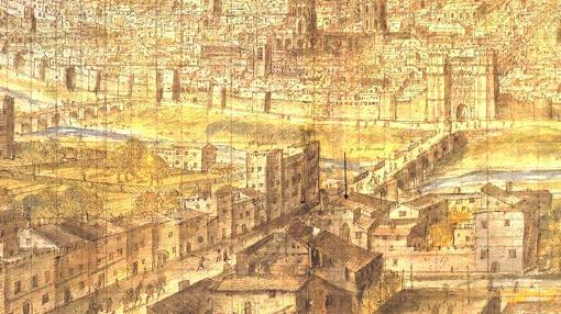 Resultado de imagen de El gigantesco burdel medieval que atrajo a miles de viajeros a España durante tres siglos