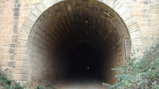 Túnel en Valdealgorfa