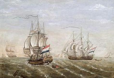 Buqes de la Compañía Neerlandesa de las Indias Orientales