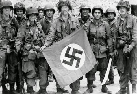 Paracaidistas americanos, durante el Día D