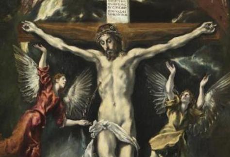«Crucifixión», de El Greco