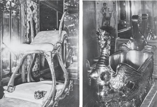 Sillón sexual y bañera de Eduardo VII