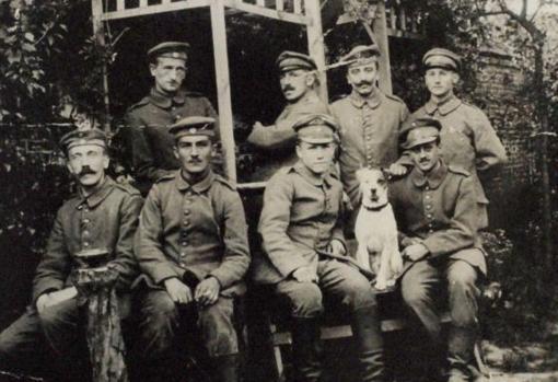 Hitler, en la Primera Guerra Mundial