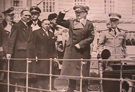 Hitler, desde el yate