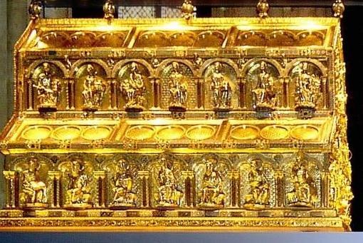 elicario en el que se encontrarían los restos de los Reyes Magos