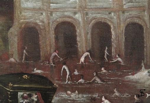 El Manzanares en el paraje del Molino Quemado, atribuido a Félix Castello, Museo de la Historia