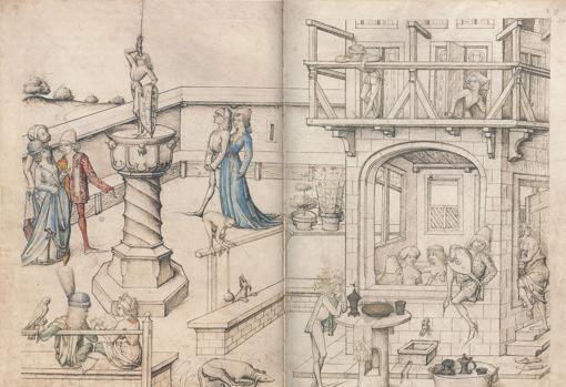 Antiguos baños públicos del siglo XV