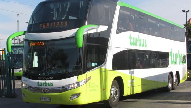 Un autobús de la compañía Turbus