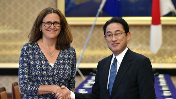 Resultado de imagen de negociaciones acuerdo entre la union europea y japón