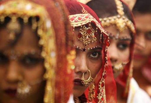 Los matrimonios forzosos es una práctica habitual en Pakistán y en la India, entre otros países