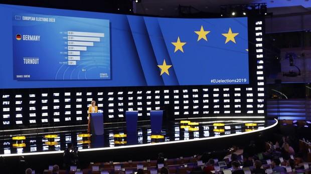 Seguimiento en Bruselas de las eleccione europeas en Alemania