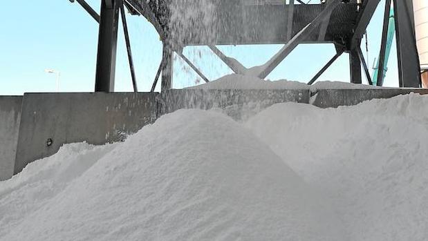 Imagen de la planta de sal vacuum de Súria