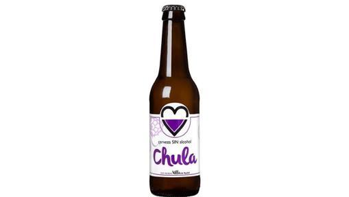 Botellín de cerveza Chula