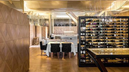 El restaurante Lasarte, en Barcelona