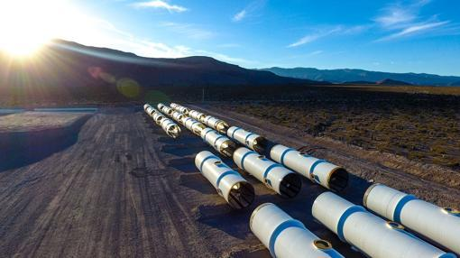 Prueba de Hyperlopp en Nevada