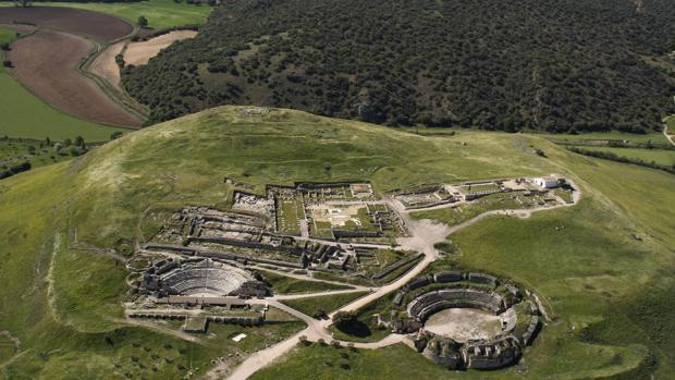 Vista aérea de Segóbriga