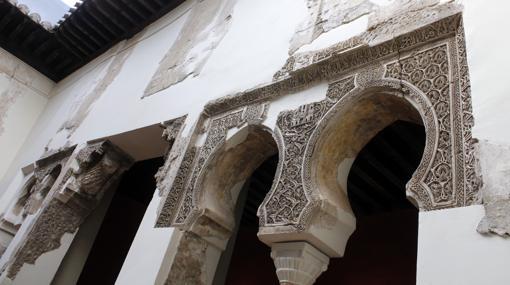 Detalle de uno de los rincones de la Casa del Temple