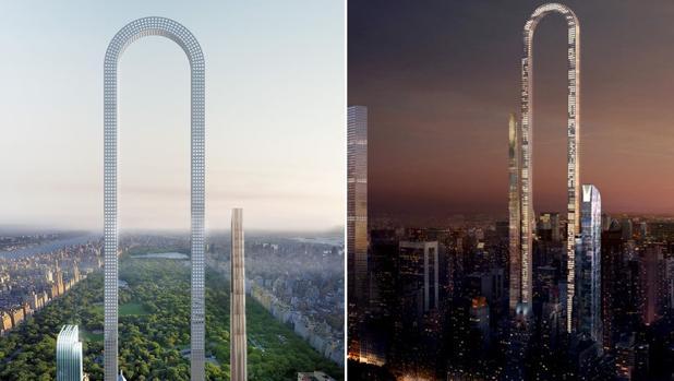 Nueva York El rascacielos ms largo del mundo en forma de U