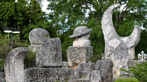 Figuras del «Castillo de Coral», (Florida)