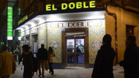 El Doble, en el número 58 de la Calle Ponzano de Madrid