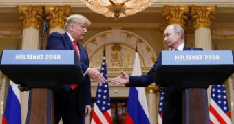 Key moments from when Trump met Putin